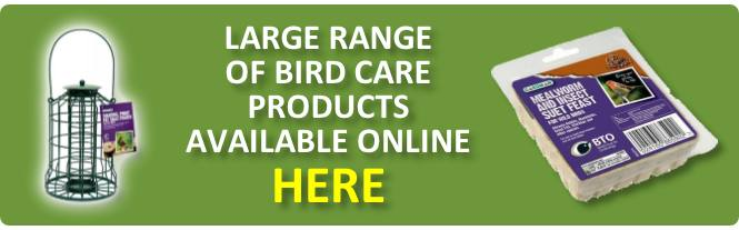 Birdcare available online from Buckingham Garden Centre