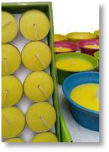 Citronella Candles available from Buckingham Garden Centre