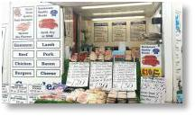 Crawley's Family Butchers at Buckingham Garden Centre every Sunday