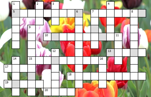 Buckingham Garden Centre's April/May prize crossword