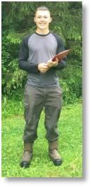 Tom Clarke, new Head Gardener at Evenley Wood Garden