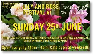 Lilly and Rose festival at Evenley Wood Garden, 25th June 2017