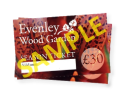 Evenley Wood Garden season ticket competition
