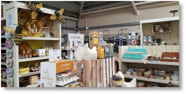 Expanded Kitchenware and Food Hall section at Buckingham Garden Centre