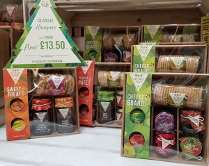 Cottage Delight hampers available from Buckingham Garden Centre