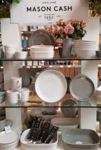Mason and Cash tableware available from Buckingham Garden Centre