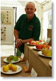 Gerry Edwards will be at Buckingham Garden Centre's Apple and Honey Weekend