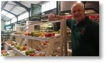 Gerry Edwards at Buckinghm Garden Centre