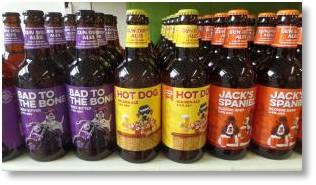 Vale Brewery Ales on sale at Buckingham Garden Centre