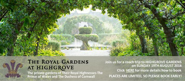 Garden Centre Visit - Highgrove Gardens
