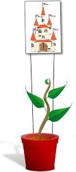Grow a beanstalk!