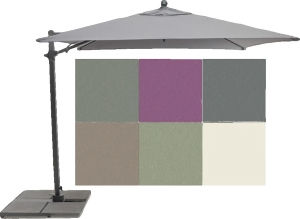 Kettler parasols available from Buckingham Garden Centre