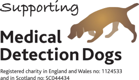 Buckingham Garden Centre supporting Medical Detection Dogs