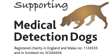 Medical Detetion Dogs logo