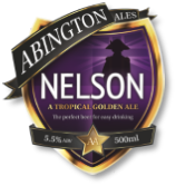 Abington Ales Nelson Ale available from Buckingham Garden Centre