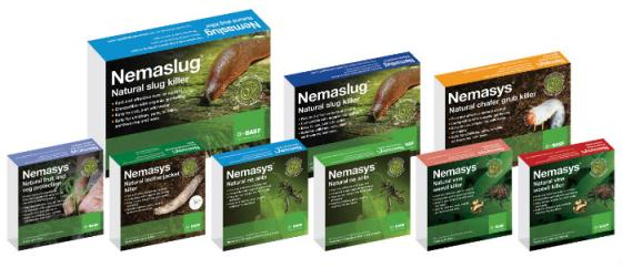 Nematodes on sale on Buckingham Garden Centre's web shop