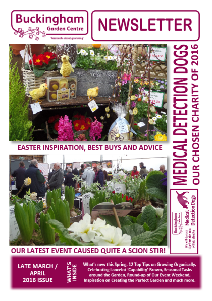 Pleasing Garden Centre Newsletter  Marchapril  With Goodlooking To Download A Pdf Copy Of Our Latest Newsletter Please Click Here With Appealing Garden Fence Design Also Beechgrove Garden Presenters In Addition Ness Gardens Courses And The Garden Magazine As Well As Hilton Garden Inn Toronto City Centre Additionally Hilton Garden Inn Pismo Beach From Buckinghamgardencentrecouk With   Goodlooking Garden Centre Newsletter  Marchapril  With Appealing To Download A Pdf Copy Of Our Latest Newsletter Please Click Here And Pleasing Garden Fence Design Also Beechgrove Garden Presenters In Addition Ness Gardens Courses From Buckinghamgardencentrecouk