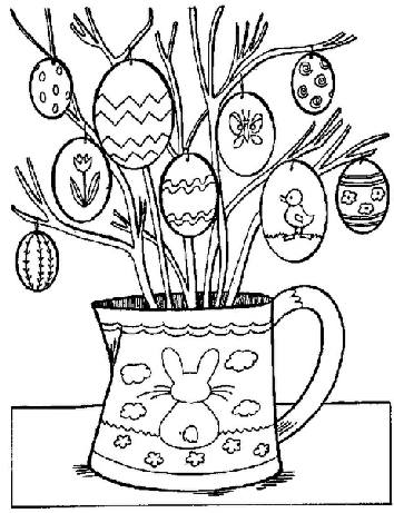 Buckingham Garden Centre's Easter Colouring Competition