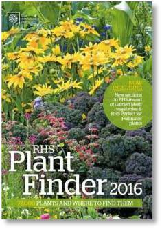 Use the RHS Plant Finder to find unusual plants