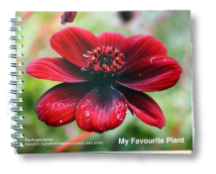 Puzzle Centre Charity book 2017 - My Favourite Plant - available from Buckingham Garden Centre