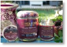 Heart and Home candles now available at Buckingham Garden Centre