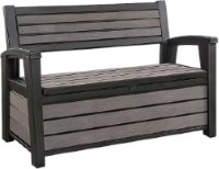 Keter HUdson bench available from Buckingham Garden Centre