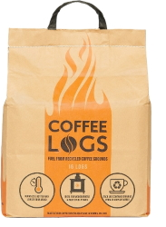 Coffee logs available to buy from Buckingham Garden Centre