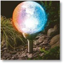 Cole and Bright solar lights available from Buckingham Garden Centre