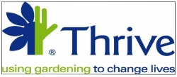 Thrive - supported charity of Buckingham Garden Centre in 2017