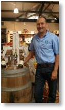 Tim Chafor of Chafor Wines at Buckingham Garden Centre