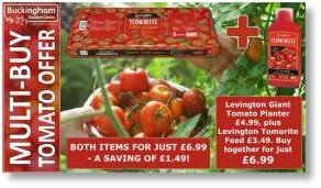 Tomorite growbags and tomato feed offer