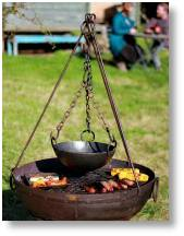 Kadai Firebowls and Accessories available at Buckingham Garden Centre