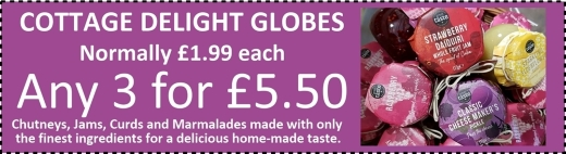 Special offer on Cottage Delight Globes at Buckingham Garden Centre