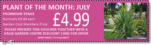 Special offer vouchers for use at Buckingham Garden Centre
