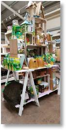 Large range of wildlife products available at Buckingham Garden Centre