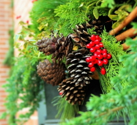 Christmas Wreath making courses at Buckingham Garden Centre